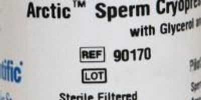 Irvine Scientific Introduces Arctic™ Sperm Cryopreservation Medium