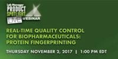 Real-time Quality Control for Biopharmaceuticals: Protein Fingerprinting