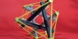 Researchers Create 3-D Printed Tensegrity Objects Capable of Dramatic Shape Change