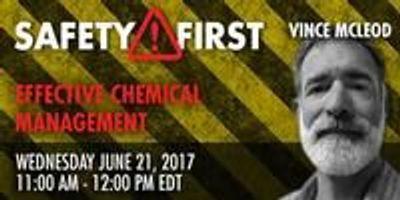 Webinar: Effective Chemical Management