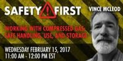 Webinar: Working with Compressed Gas: Safe Handling, Use, and Storage